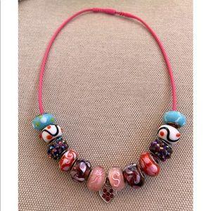 Jewelry - European charm necklace